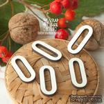 Деревянные фишки ScrapBox - Набор цифр 0 (5шт) Fl-028 - ScrapUA.com