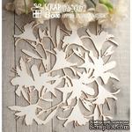 Чипборд ScrapBox - Лилии Hb-007 - ScrapUA.com