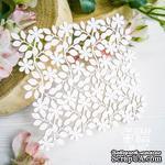 Чипборд ScrapBox - Фоновой цветочный Hb-067 - ScrapUA.com