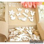 Чипборд ScrapBox - Набор коробочка счастья Baby (90 шт.) Hc-068 - ScrapUA.com