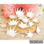 Чипборд ScrapBox - Набор короны 15 шт. Hc-071 - ScrapUA.com