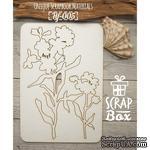 Чипборд ScrapBox - Цветы №3 - ScrapUA.com