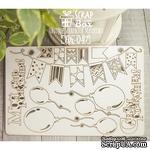 Чипборд ScrapBox - День рождения Hh-047 - ScrapUA.com