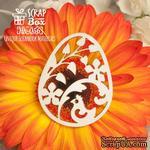 Чипборд ScrapBox - пасхальное яйцо - крашенка Hh -056 - ScrapUA.com