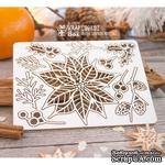 Чипборд ScrapBox - Набор новогодних растений Hh-131 - ScrapUA.com