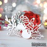 Чипборд ScrapBox - Рождественская композиция Hh-165 - ScrapUA.com