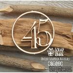 Чипборд ScrapBox - Цифра 45 - ScrapUA.com