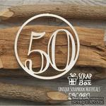 Чипборд ScrapBox - Цифра 50 - ScrapUA.com