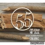 Чипборд ScrapBox - Цифра 55 - ScrapUA.com