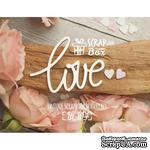 Чипборд ScrapBox - Надпись Love - ScrapUA.com