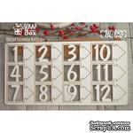 Чипборд ScrapBox - Набор цифр №2 - ScrapUA.com