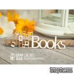 Чипборд ScrapBox - надпись Books Hi-191 - ScrapUA.com