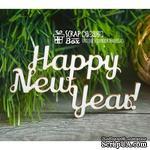 Чипборд ScrapBox - Надпись Happy New Year Hi-206 - ScrapUA.com