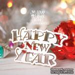 Чипборд ScrapBox - Надпись Happy New Year Hi-414 - ScrapUA.com