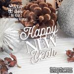 Чипборд ScrapBox - Надпись Happy New Year! Hi-458 - ScrapUA.com