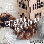 Чипборд ScrapBox - Надпись Merry Christmas! Hi-460 - ScrapUA.com