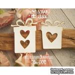 Чипборд ScrapBox - Подарки с сердечками - ScrapUA.com