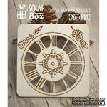 Чипборд ScrapBox - Набор Часы №1 - ScrapUA.com