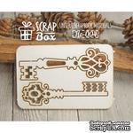 Чипборд ScrapBox - Набор Ключи - ScrapUA.com