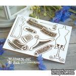 Чипборд ScrapBox - Набор швейный малый с манекеном Ho-090 - ScrapUA.com
