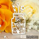 Чипборд ScrapBox - Баночка Big Dream Ho-101 - ScrapUA.com