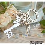 Чипборд ScrapBox - Ключ с цветами Ho-126 - ScrapUA.com