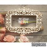 Чипборд ScrapBox - Рамка Растительный орнамент с цветами - ScrapUA.com