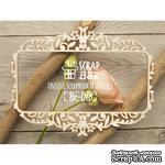 Чипборд ScrapBox - Рамка тонкая Растительный орнамент - ScrapUA.com