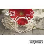 Чипборд ScrapBox - Рамка с крыльями Стимпанк №1 - ScrapUA.com