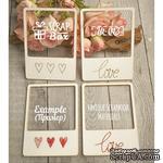 Чипборд ScrapBox - Для вышивки слайды Love №1 - ScrapUA.com