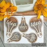 Чипборд ScrapBox - набор лампочек Idea - ScrapUA.com
