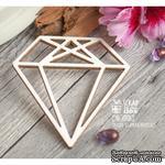 Чипборд ScrapBox - Алмаз трехгранный Ht-058 - ScrapUA.com