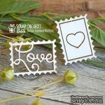 Чипборд ScrapBox - Марки Love Ht-062 - ScrapUA.com
