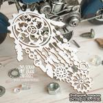 Чипборд ScrapBox - Узорная шестеренка в виде ловца снов Ht-083 - ScrapUA.com