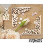 Чипборд ScrapBox - Уголки Розы №2 - ScrapUA.com
