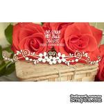 Чипборд Scrapbox - Цветочный бордюр с завитками Hw-014 - ScrapUA.com