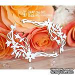 Чипборд ScrapBox - Уголки с цветами Hw-041 - ScrapUA.com