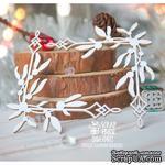 Чипборд ScrapBox - Уголки с омелой 2 шт. Hw-085 - ScrapUA.com