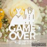 Чипборд ScrapBox - Надпись Game Over Hy-047 - ScrapUA.com