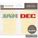 Карточки для журналинга Studio Calico - Snippets Journal Cards - Months - ScrapUA.com