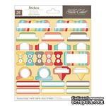 Набор наклеек Studio Calico - Snippets Stickers - Cardstock Decorative Tabs - ScrapUA.com