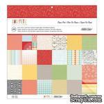 Набор скрапбумаги Studio Calico - Snippets Paper Pad, размер 30х30 см, 24 листа - ScrapUA.com