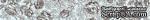 """Бумажный скотч с принтом """"Голубые розочки"""", ширина 15 мм, длина 8 м - ScrapUA.com"""