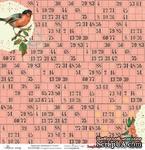 Бумага для скрапбукинга от ScrapBerry's 30х30см  односторонняя Трели птиц - ScrapUA.com