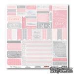 Лист бумаги для скрапбукинга  от ScrapBerry's - Свадебная - Карточки 2 - ScrapUA.com