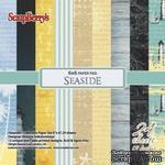 Набор бумаги для скрапбукинга, 15х15см, 170 гр/м Там, где море, 24 листа - ScrapUA.com