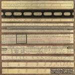Бумага для скрапбукинга от ScrapBerry's - Хроника вычислений - Точка Невозврата, 30,5х30,5 см, 180 гр/м, двусторонняя, 1 лист - ScrapUA.com