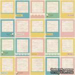 Лист бумаги для скрапбукинга 30,5х30,5 см 180 гр/м, односторонний, Фантазия - Моменты Счастья - ScrapUA.com