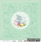 Лист бумаги для скрапбукинга от ScrapBerry's - Полуденный Чай, Чайна - ScrapUA.com