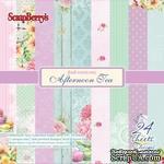 Набор бумаги для скрапбукинга от ScrapBerry's - Полуденный Чай, 15 х 15 см, 24 листа - ScrapUA.com